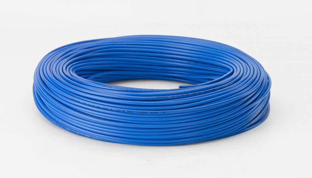 POLYCAB 306'15 Wires Blue
