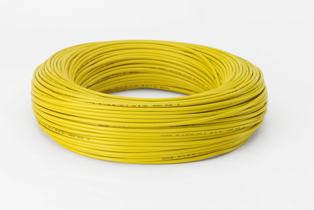 POLYCAB 306'15 Wires Yellow