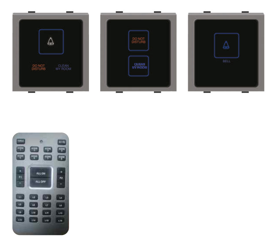 IR Touch Screen -DND/Clean my room/Bell Switch/Remote Control