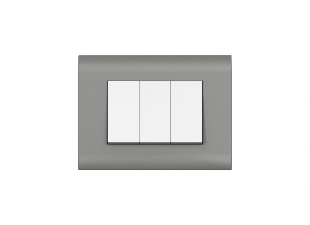 Magnesium Grey Cover Plate